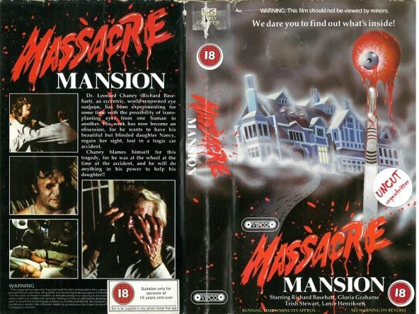 Massacre Mansion - Haus mit dem Folterkeller (Vipco Video UK Import)