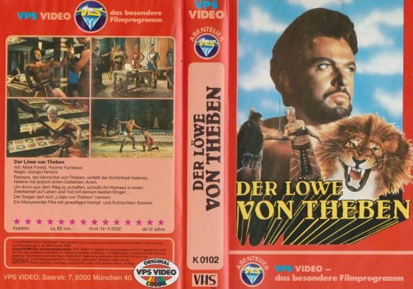 Löwe von Theben, Der