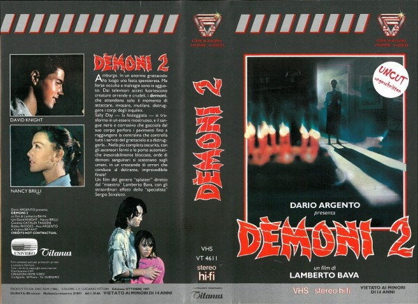 Demoni 2 - Dämonen (Creazioni Home Video IT Import)