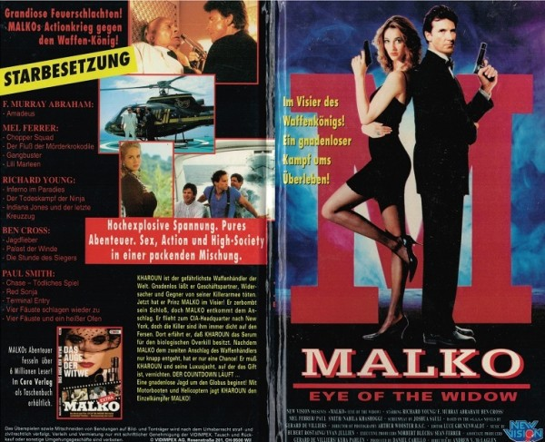 Malko - Eye of the widow - Hartbox