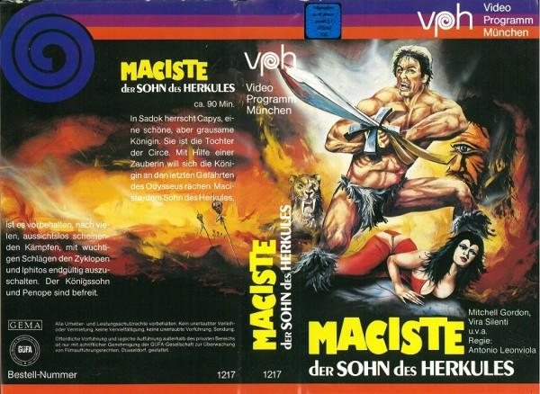 Maciste - Der Sohn des Herkules (VPH)