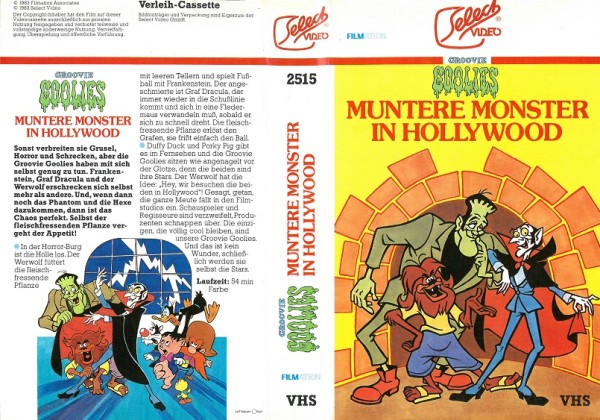 Munere Monster in Hollywood - Groovie Goolies (Daffy Duck and Porky Pig Meet the Groovie Goolies)