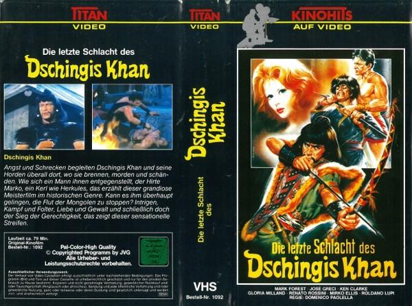 letzte Schlacht des Dschingis Khan, Die