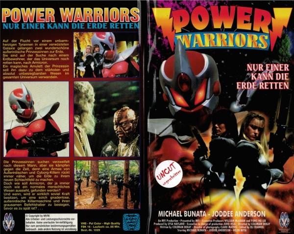 Power Warriors - Nur einer kann die Erde retten (Hartbox)