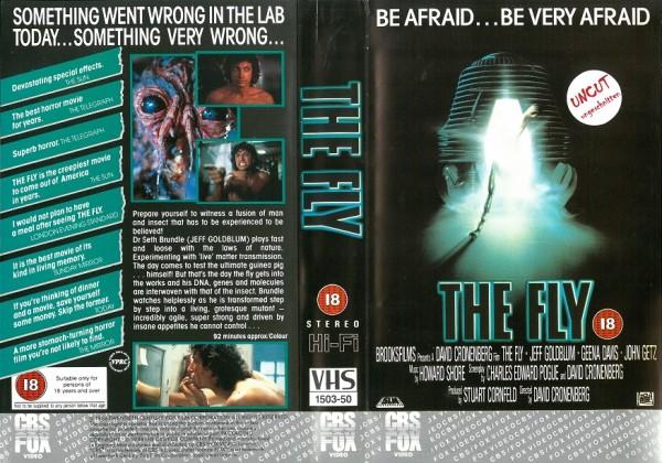 Fly, The - Die Fliege (CBS Fox Video UK Import)