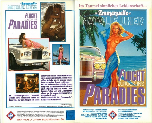 Flucht zurück ins Paradies - Escape to paradise (Hartbox)