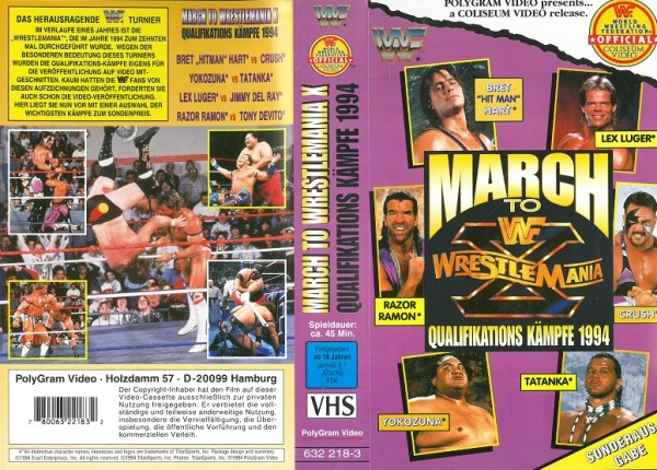 March to Wrestlemania X (WWF Wrestling)
