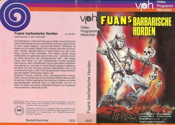 Fuans barbarische Horden - Germanicus in der Unterwelt (VPH)