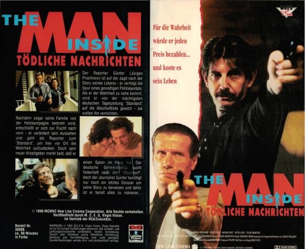 Man Inside, The - Tödliche Nachrichten (Hartbox)