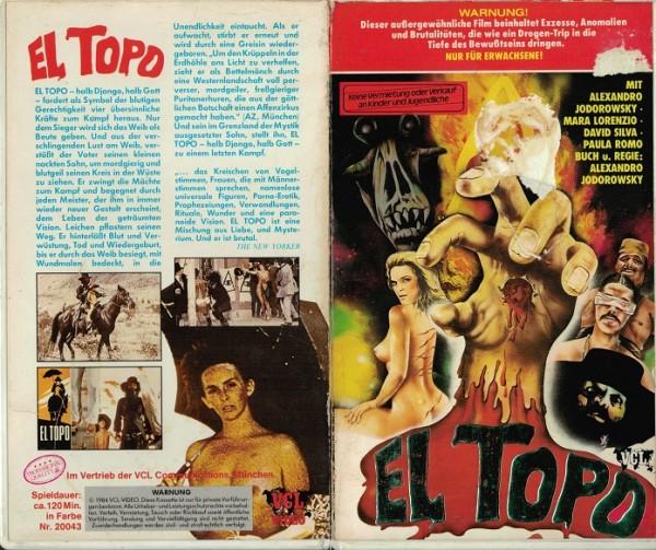 El Topo - Halb Django, halb Teufel (Hartbox)