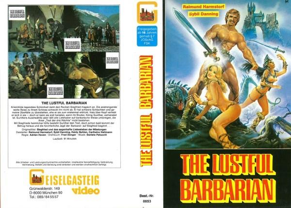 Lustful Barbarian, The - Siegfried und das sagenhafte Liebesleben