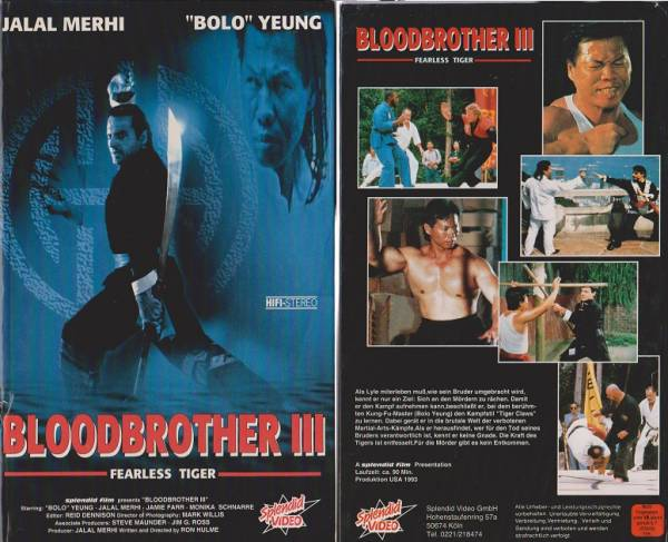 Bloodbrother 3 - Fearless Tiger (Hartbox)