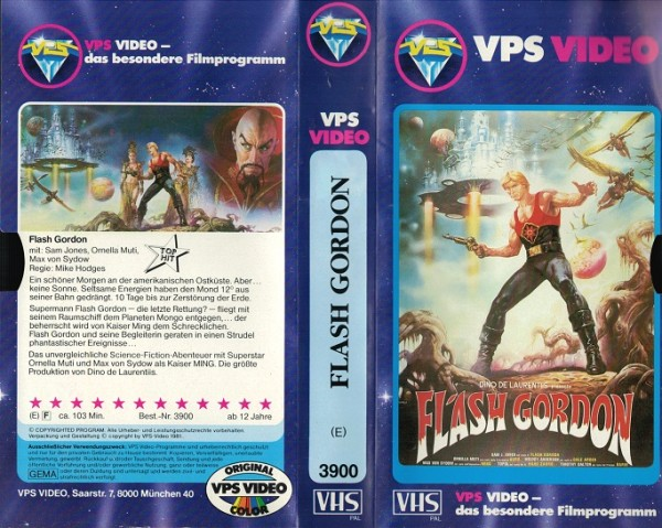 Flash Gordon (Glasbox)