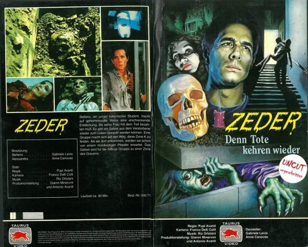 Zeder - Denn Tote kehren wieder (Hartbox)