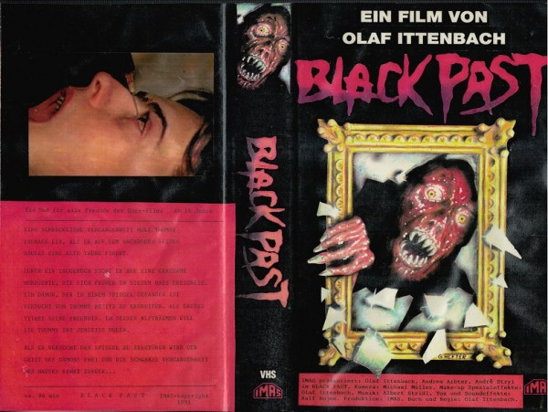 Black Past - Olaf Ittenbach (Auflage 1991)