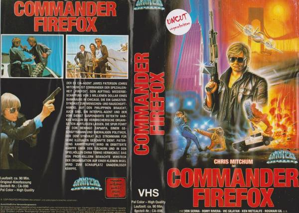Commander Firefox - Master Samurai (Hartbox)