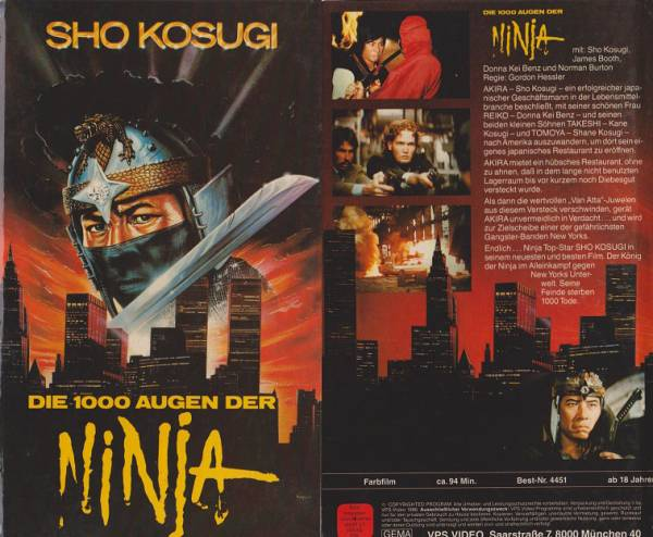 1000 Augen der Ninja, Die