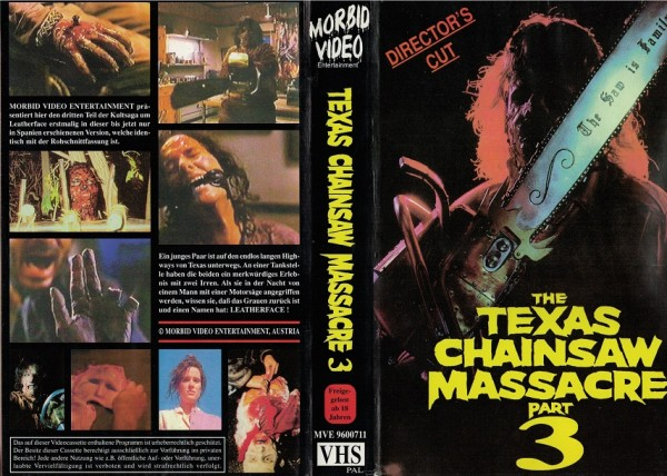 Texas Chainsaw Massacre 3, The (Director´s Cut) Morbid Video