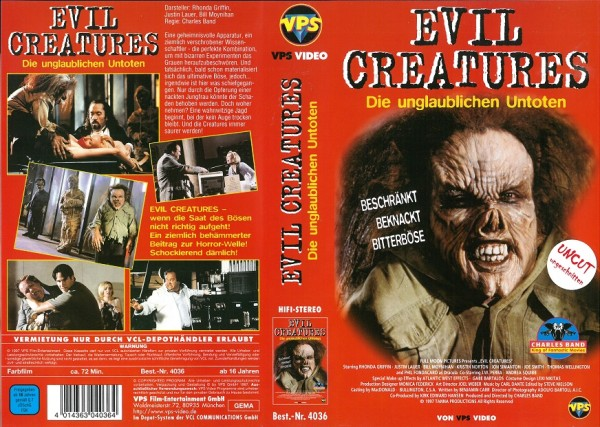 Evil Creatures - The Creeps
