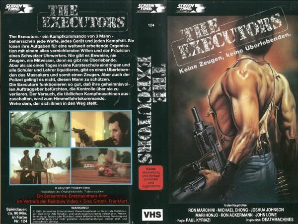 Executors, The - Keine Zeugen, keine Überlebenden
