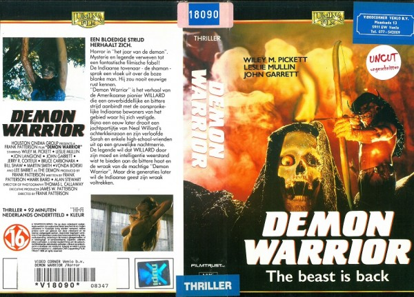 Demon Warrior (Lumina Film NL Import)