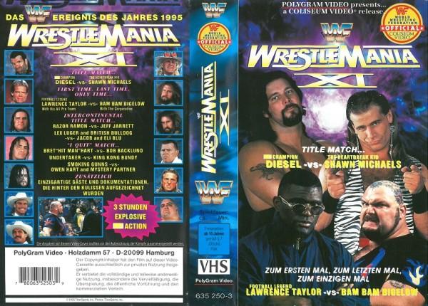 Wrestlemania XI (WWF Wrestling)
