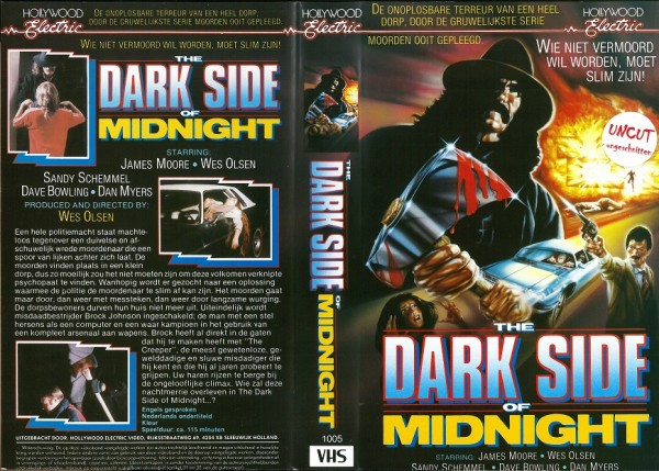 Dark Side of Midnight, The - Blood City (Hollywood Electric NL Import)