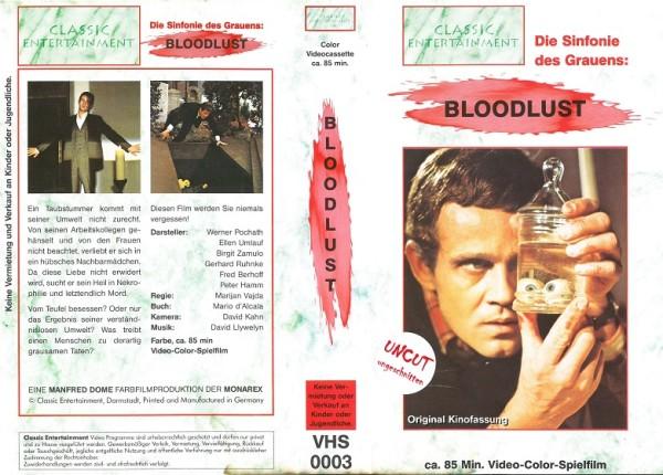 Bloodlust - Moskito - Mosquito - Der Schänder (Classic Entertainment)
