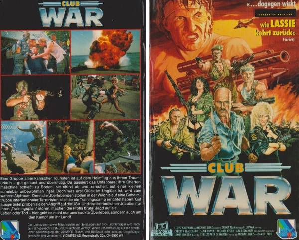 Club War / Troma´s War (Hartbox)