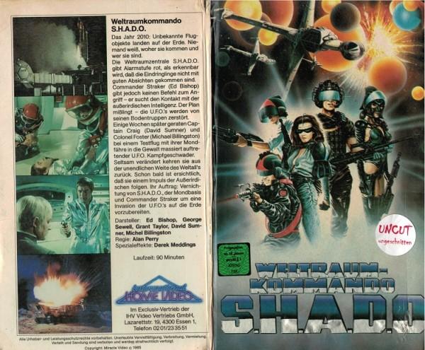 Weltraum-Kommando S.H.A.D.O. (Hartbox)