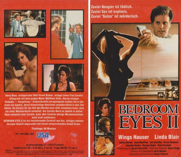 Bedroom Eyes 2 - Augen der Lust (Hartbox)
