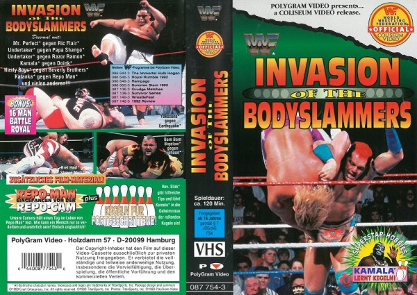 Invasion of the Bodyslammers (WWF Wrestling)