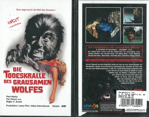 Todeskralle des grausamen Wolfes (Anolis) NEU, OVP