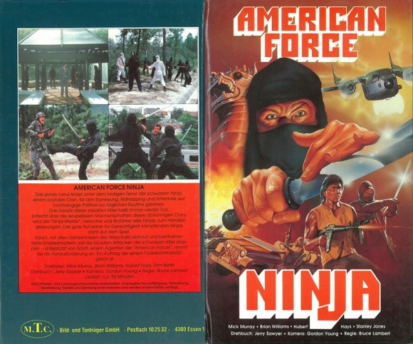 American Force Ninja / Empire of the Spiritual Ninja (MTC Hartbox)