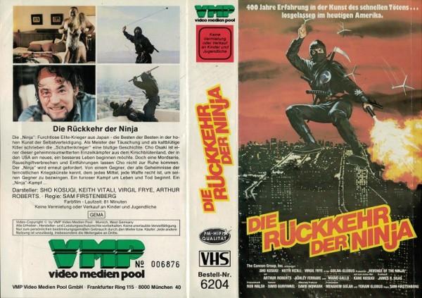 Rückkehr der Ninja, Die (VMP)