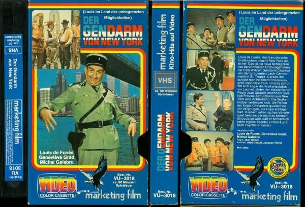 Gendarm von New York, Der (Pappschuber)