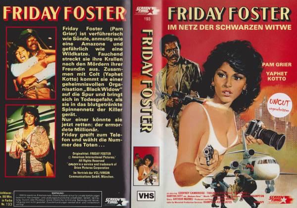 Friday Foster - Im Netz der schwarzen Spinne