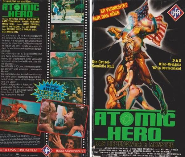 Atomic Hero - Das liebenswerte Monster / Toxic Avenger (Hartbox)