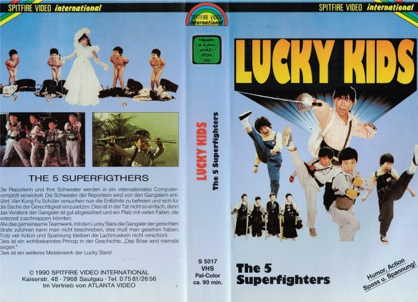 Lucky Kids - The 5 Superfighters