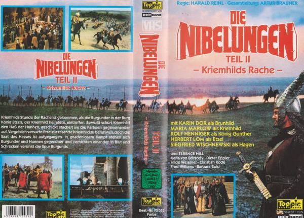 Nibelungen - Teil 2 - Kriemhilds Rache, Die