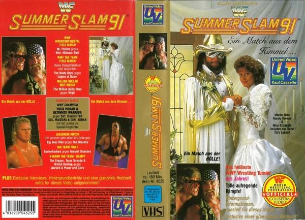 Summer Slam 91 (WWF Wrestling)