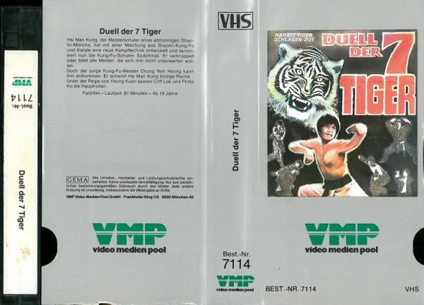 Duell der 7 Tiger (VMP Glasbox silber)