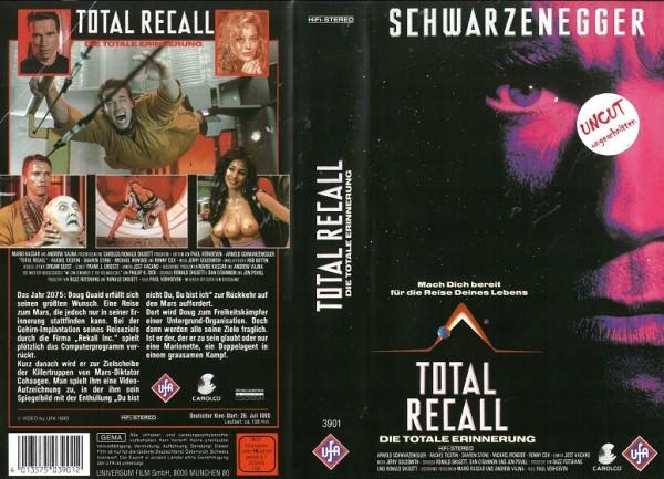 Totale Erinnerung - Total Recall - NEU,