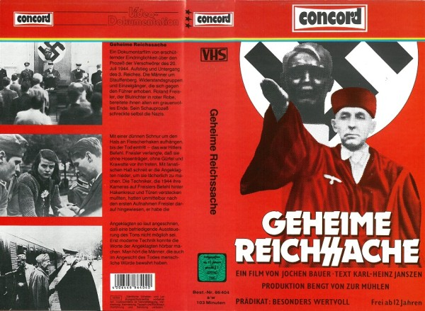 Geheime Reichssache (Concord Video)