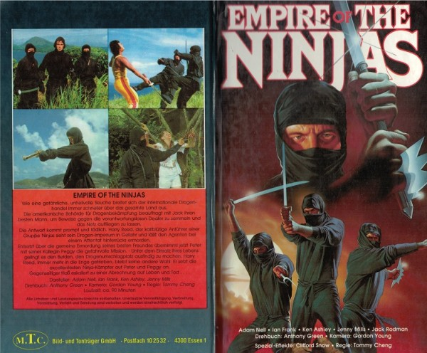 Empire of the Ninjas - Imperium der Ninja (MTC Hartbox)