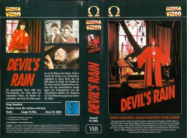 Devil's Rain - Nachts wenn die Leichen schreien - Fluch der Dämonen (Omega Video)