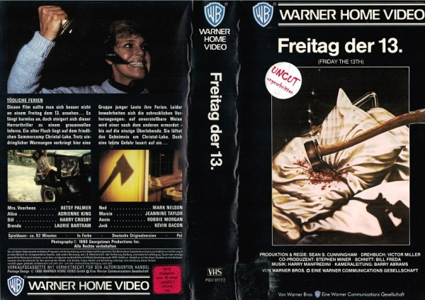 Freitag der 13. - Friday the 13th - unrated (VK NA)