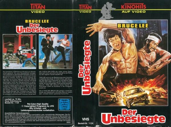 Bruce Lee - Der Unbesiegte (Titan Video)