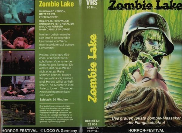 Zombie Lake - Sumpf der lebenden Toten (Einleger!)