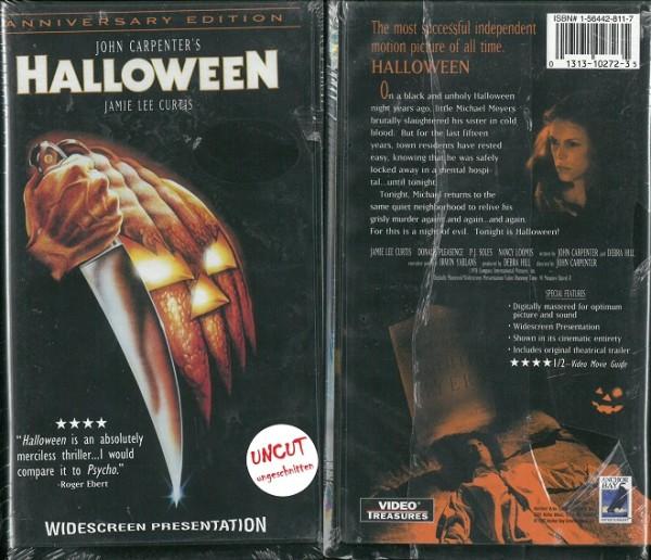 Halloween - Die Nacht des Grauens (Anchor Bay Video US Import) NEU, OVP